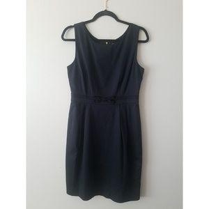 Kate Spade New York |  Black Sleeveless Mini Dress